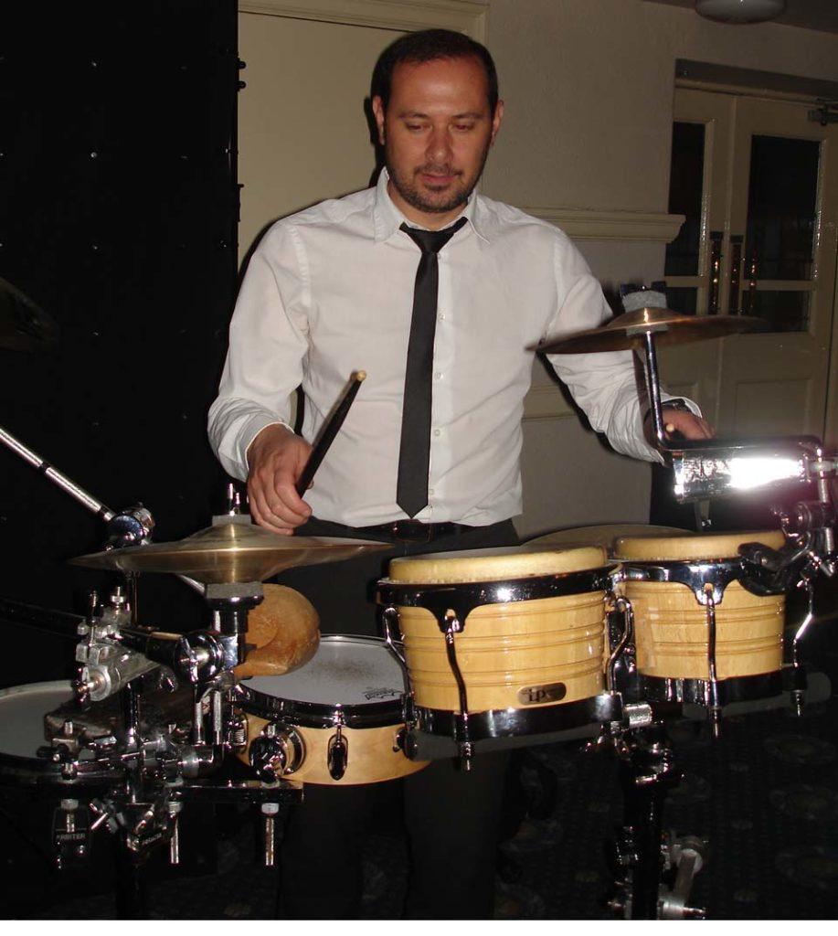 Bongo player night club