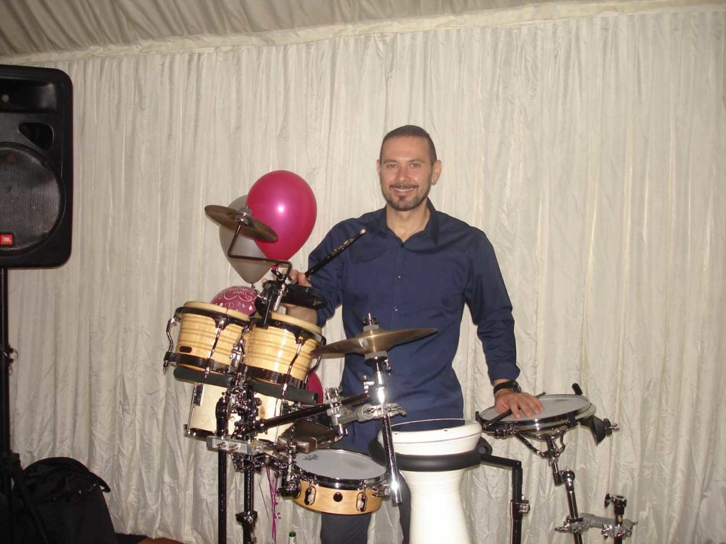 Bongo player for hire private parties